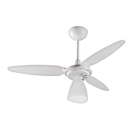 Ventilador de Teto Wind Light 3 Pás Branco Ventisol