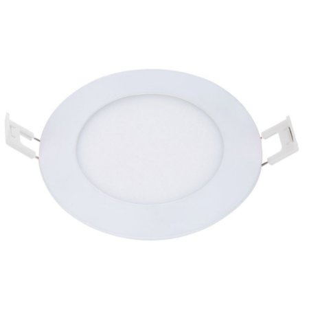 Painel Led de Embutir Redondo 6W 6500K Luz Branca Bivolt Avant