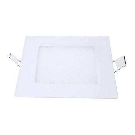 Painel Led de Embutir Quadrado 6W 6500K Luz Branca Bivolt Avant
