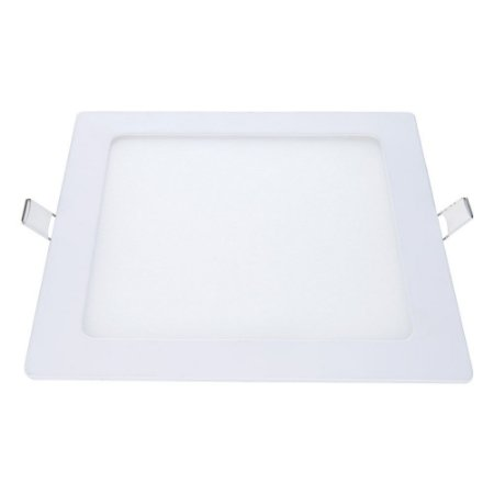 Painel Led de Embutir Quadrado 12W 3000K Luz Amarela Bivolt Avant