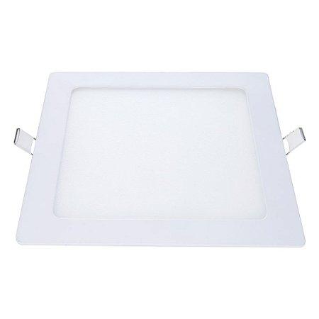 Painel Led de Embutir Quadrado 12W 6500K Luz Branca Bivolt Avant