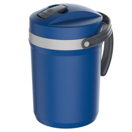 Garrafa Térmica Fliptop 2,5 Litros Azul Termolar