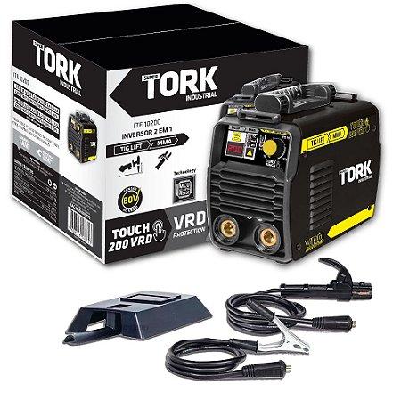 Inversor De Solda Touch 200 VRD TIG Lift/MMA Eletrodo ITE-10200 200A Super Tork 220V