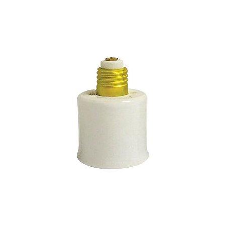 Adaptador Porcelana Base E27xE40 Foxlux