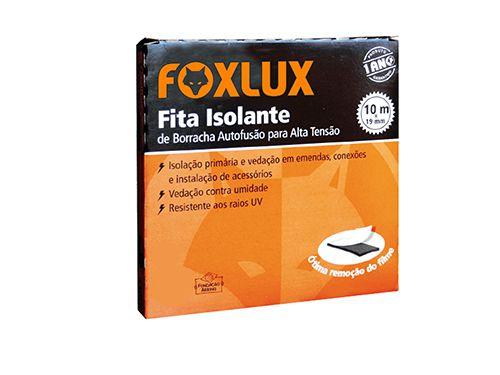 Fita Isolante Autofusão 19MMX10MT Foxlux