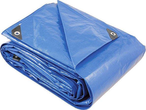 Lona Azul Polietileno 10Mx05M Foxlux