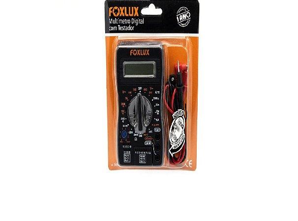 Multímetro Digital Com Testador Foxlux