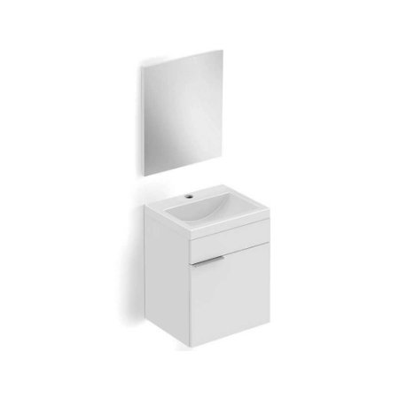Kit Gabinete Porta+Esp. Avant 41x34x55 Branco Incepa