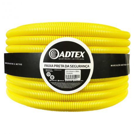 Conduite  Amarelo Corrugado 25MM x 50M Adtex
