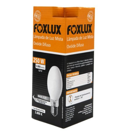 Lâmpada De Luz Mista 250w-127v Foxlux