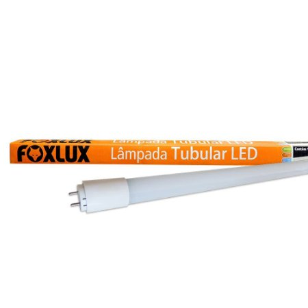 Lâmpada Led De Tubular 18W Bivolt Luz Branca Foxlux