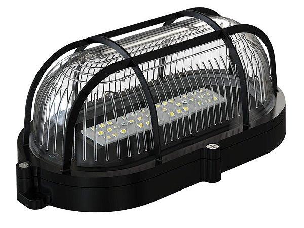 Luminária De Tartaruga Led Com 35 led´s  7W Bivolt Preta  Foxlux