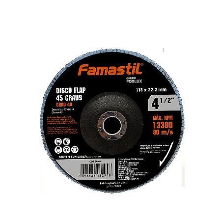 Disco Flap 4.1/2'' X 120G Famastil