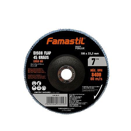 Disco Flap 7''   4.1/2'' X 60G Famastil