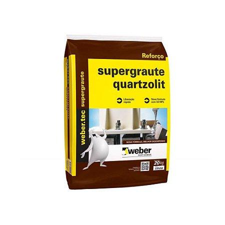 Supergraute 25KG quartzolit