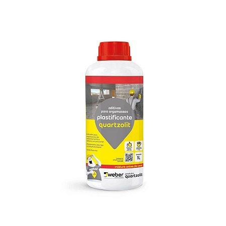 Aditivo Plastificante 1 Litro Quartzolit
