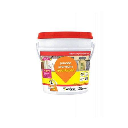 Impermeabilizante Parede Premium 3,6kg Quartzolit