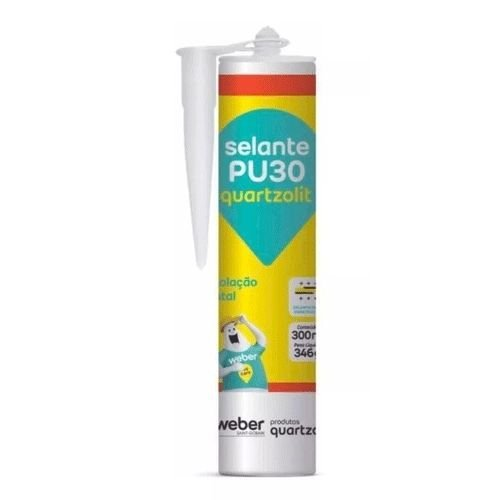 Selante PU30 Branco 300ML / 346G Quartzolit