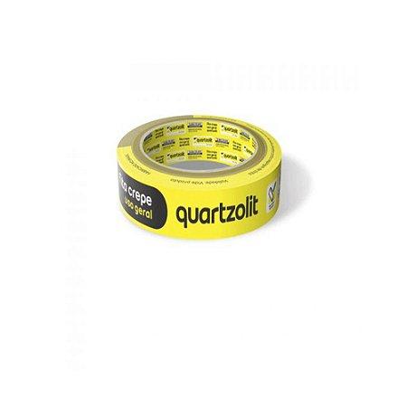 Fita Crepe Uso Geral 18MMx50M Quartzolit