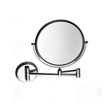 Espelho Para Parede Dupla Face Com Aumento Lorenzetti