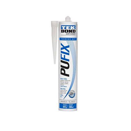 Adesivo Poliuretano Pu Fix Branco 387G / 280ML Tekbond