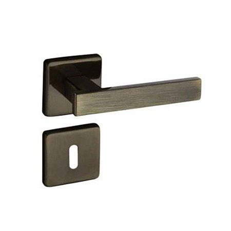 Fechadura Concept Interna Roseta Quadrada Bronze 40mm Pado