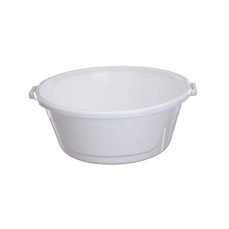 Bacia De Plástico 14 Litros Branco Astra