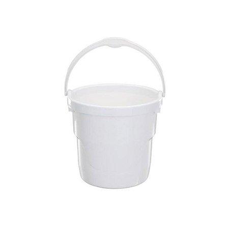 Balde De Plástico 12 Litros Branco Astra