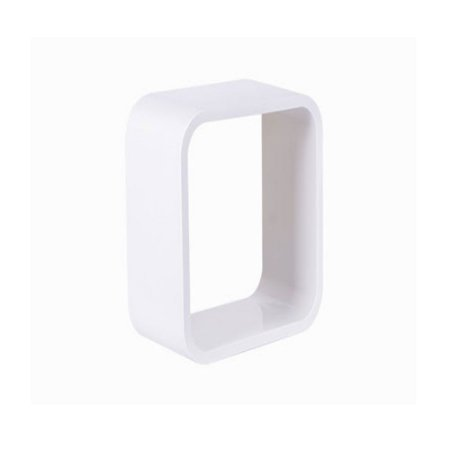 Nicho De Plástico 26cm Branco Com Branco Astra