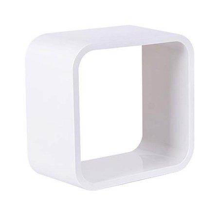 Nicho De Plástico 31cm Branco Com Branco Astra
