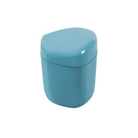 Porta Cotonetes Azul Astra