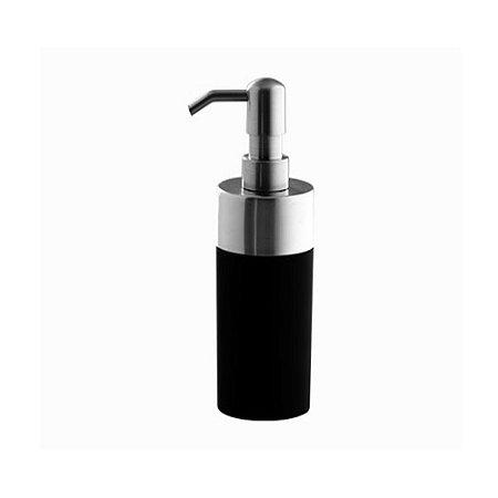 Porta Sabonete Liquido KBST/SL*PR1 Preto Astra