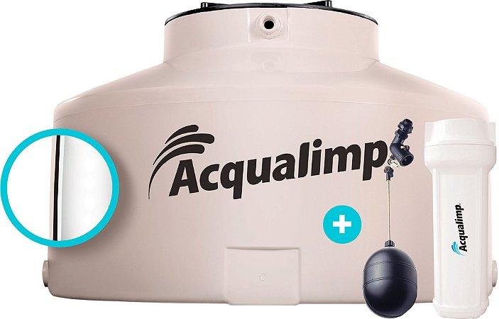 Caixa D'Água Água Limpa 500 Litros Areia Com Filtro e Bóia Acqualimp
