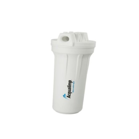 Filtro De Água Para Ponto De Entrada Branco Acqualimp