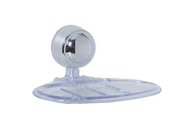 Saboneteira Cristal Clean Astra