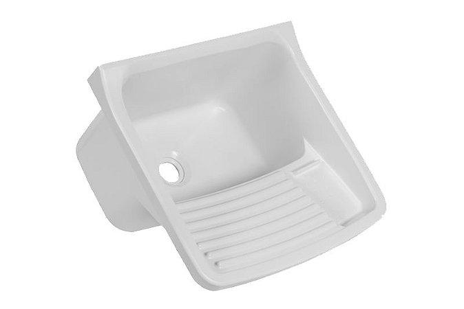 Tanque De Plástico 49x43x28 Branco Astra