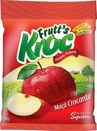 Frutts Kroc Maçã Desidratada 40G