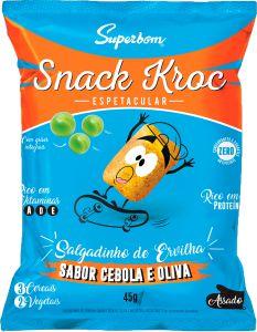 Snack Kroc Sabor Cebola e Oliva 45g