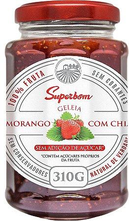 Geleia de Morango com Chia  310g sem Adição Açúcar
