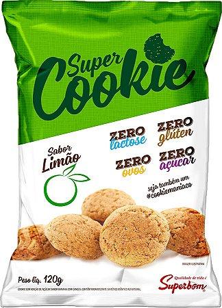 Super Cookie Zero Sabor Limão 120 gr.