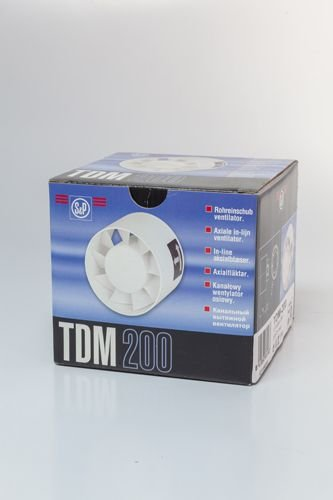 Exaustor tdm 125 mm 127v