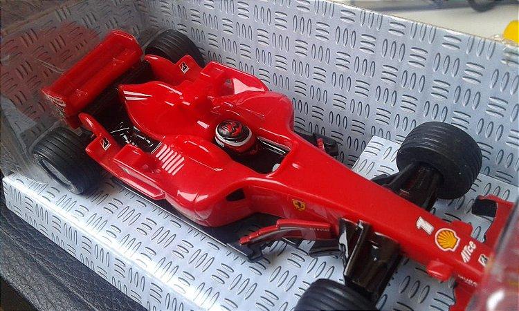 Miniatura Hotwheels Licenciada Ferrari escala 1: 38, Réplica Fórmula 1 modelo F2008