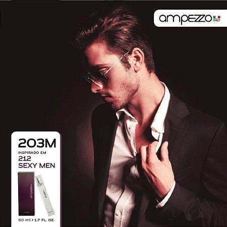 AMPEZZO ITALY 203M - 50ml Inspirado em 212 Sexy Men