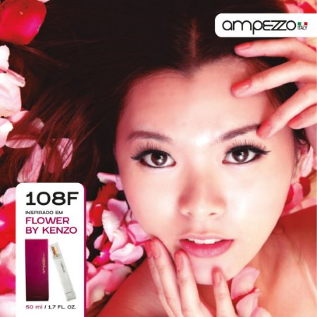 AMPEZZO ITALY 108F - 50ml Inspirado em Flower by Kenzo