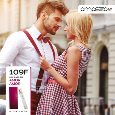 AMPEZZO ITALY 109F - 50ml Inspirado em Amor Amor