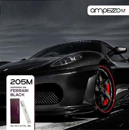 AMPEZZO ITALY 205M - 50ml Inspirado em Ferrari Black