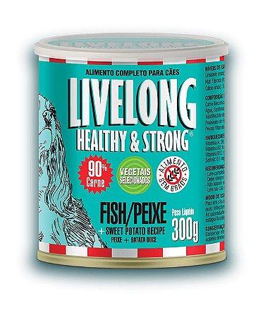 Livelong -  Peixe com Batata Doce 300g