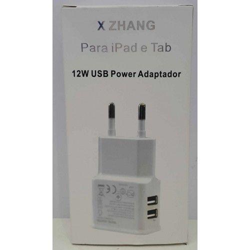 Tomada USB Dupla P/ iPad e Tab
