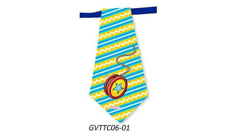 Gravatas em Tecido - GVTTC06- Pct 10 unids