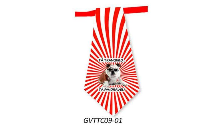 Gravatas em Tecido - GVTTC09- Pct 10 unids
